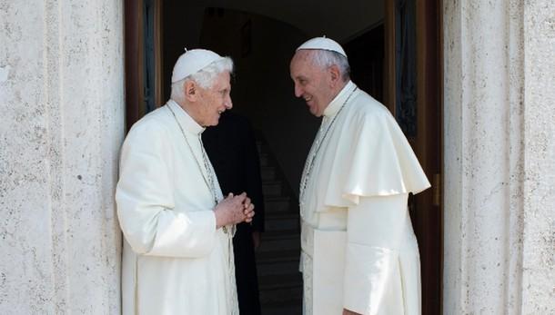 Anche Ratzinger ad apertura Porta Santa