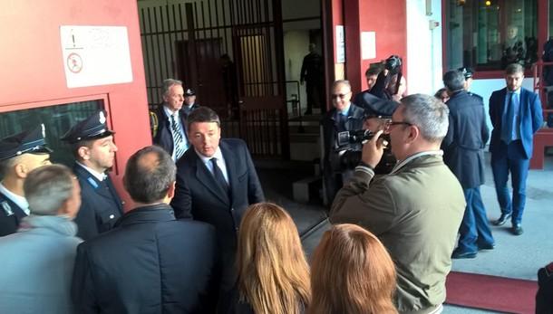 Matteo Renzi in visita a Padova Prima in carcere, poi al Bo