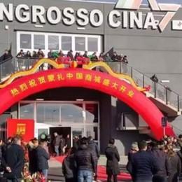 Agrate, gross market cinese  È il più grande d'Europa