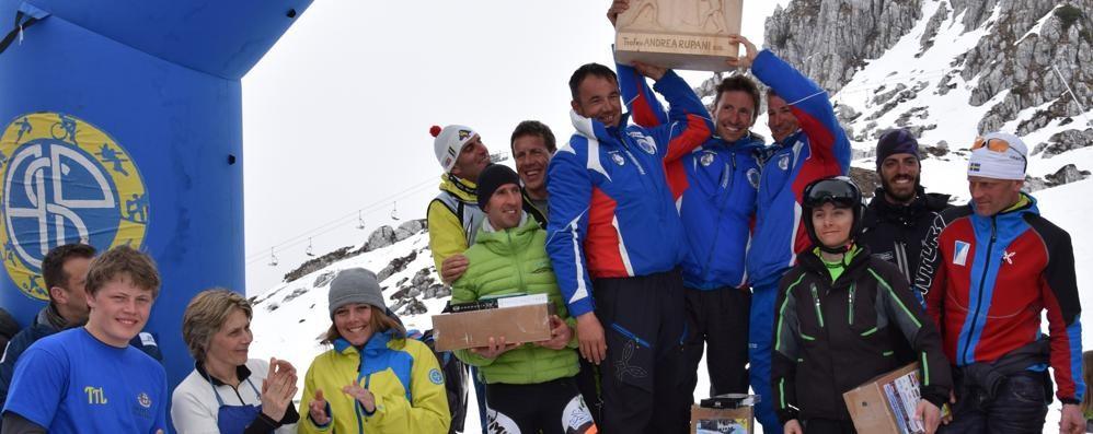 Trofeo rupani ai piani di bobbio grande festa nel ricordo for Piani di costruzione di storage rv
