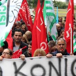 Crisi König: «Serve subito  l'intervento del ministero»