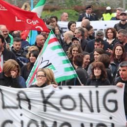 Lecco. Niente trattativa  Konig licenzia 106 persone