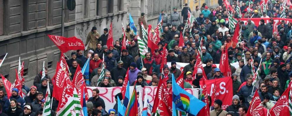 Metalmeccanici in sciopero  «Soddisfatti delle adesioni»