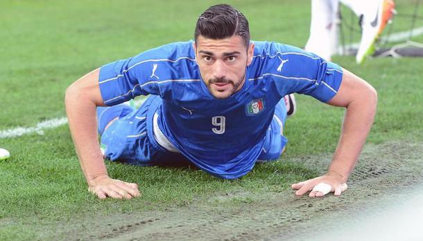 Euro 2016, tegola per Conte: Pellè si ferma in allenamento