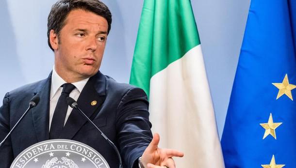 Ue, Renzi: