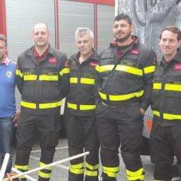 Vigili del fuoco di Valmadrera  In dotazione un mezzo anfibio