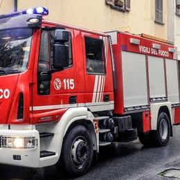 Garbagnate Monastero, auto bloccate  nel sottopasso: intervento dei pompieri