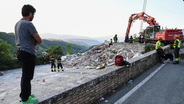 Frana:Salaria chiusa tra Rieti e Ascoli