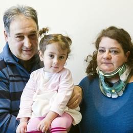 Pesava 400 grammi, oggi ha tre anni  Al S. Anna la festa per la piccola Michela