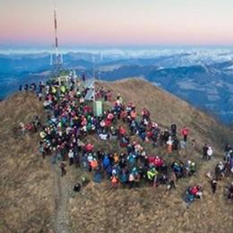 In 450 al San Primo per osservare l'alba  «Battuto il freddo, uno spettacolo unico»