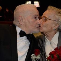 Bellano, fu sposino a 90 anni   Tanta gente al commuovente addio