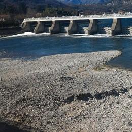Allarme siccità, lago basso  Si attraversa senza ponte