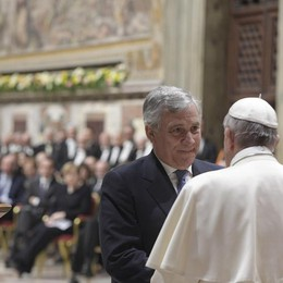 Papa: muro Europa cadde con fatica