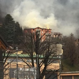 Furioso incendio a Sormano  Danni gravissimi Guarda il video