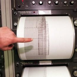 Scossa di terremoto  avvertita nel Lecchese