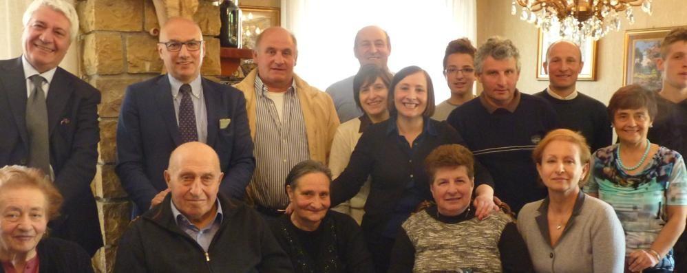 Sessant'anni da artigiano a Esino  Premiato Viglienghi