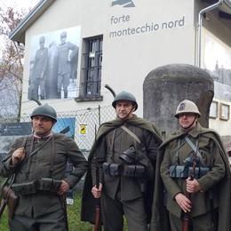 Al Forte tra baionette e crocerossine  La Grande guerra rivive al Montecchio