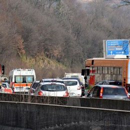 INCIDENTE A CIVATE CODE VERSO LECCO