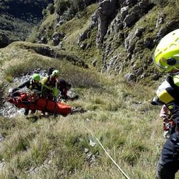 Sorpresi dal maltempo in Grignetta Salvati dal Soccorso Alpino dopo 7  ore