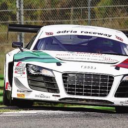 Mapelli ritorna sul podio  Ora guida il tricolore Gt3