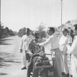 Mandello ricorda Patrignani  In Vespa a Tokio 50 anni fa