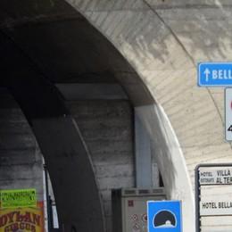 Un milione  per sistemare le strade  Lariana più sicura  con i parapetti