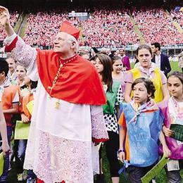 Lecco, la carica dei seimila  I cresimati con l'arcivescovo