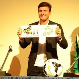 La casa don Guanella  porta un altro big  Giovedì Javier Zanetti