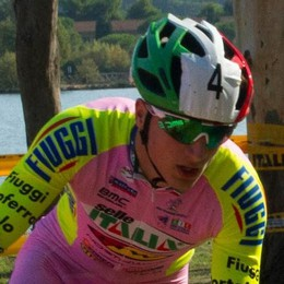 Loris Conca promessa del ciclocross  «Quanto è bello vestire la maglia rosa»