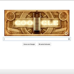 Volta compie 270 anni, il tributo di Google