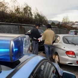 Tutti in coda sulla statale  per un incidente a Cesana