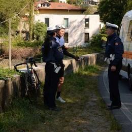Incidente a Dorio  Grave un ciclista