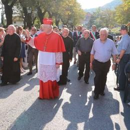 Viganò, arriva il cardinale Scola  Andrà alla tomba di don Tuissi