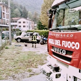 Lurate Caccivio, muore in moto  Grave la moglie che era con lui