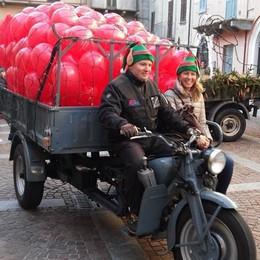I motocarri Guzzi  conquistano Mandello