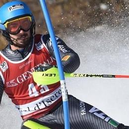 Fantastico Tommaso Sala  È tricolore nello slalom