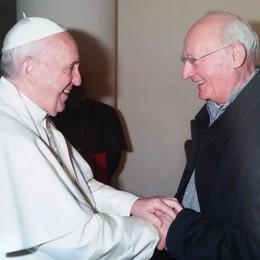 Olginate, don Eugenio   e il doppio incontro papale