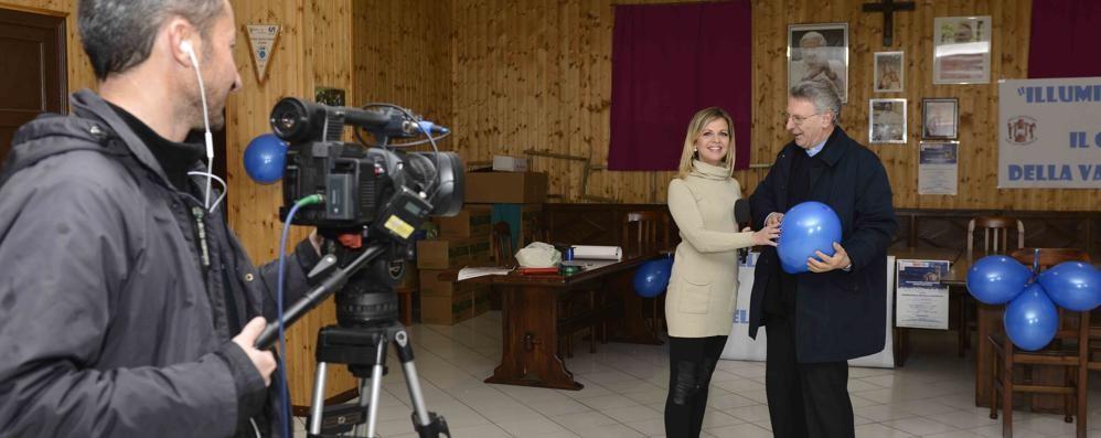 I riflettori della Tv  sulla Valsassina  per la lotta all'autismo