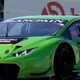 Beretta trova subito il feeling  con la Lamborghini Huracan