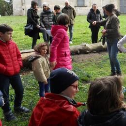 Parco Villa Greppi, ecco l'ala ovest  D'ora in poi sarà il regno degli alunni