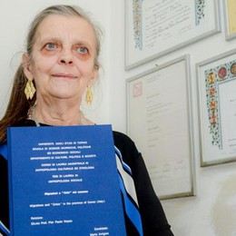 Marta, laureata sei volte  «Il sapere rende liberi»