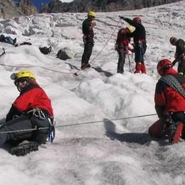 Valanga in alta Valtellina  Un escursionista ferito