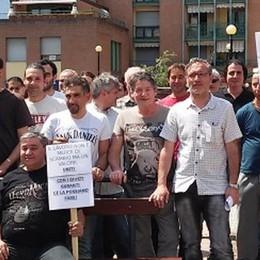Gilardoni X: sciopero e presidio  «Vogliamo garanzie sul futuro»