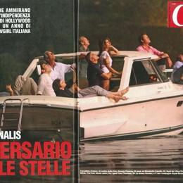 Foto di Clooney e della Canalis  Processo per gli scatti di Laglio