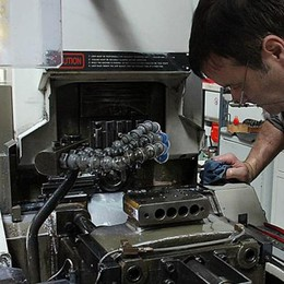 A Lecco in frenata  la produzione industriale
