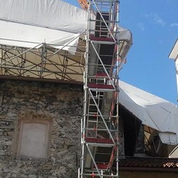 San Lorenzo: domenica la riapertura   A maggio era stata devastata dal fuoco