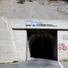 Livigno, chiude per una notte il tunnel Munt la Schera