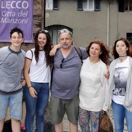 Il pronipote di Manzoni  dalla Spagna a Lecco