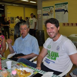 Lega: Bossi, Maroni e Salvini a Cantù  «Molteni? Lo vedo ministro»