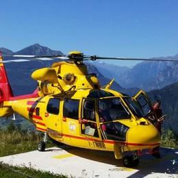 Precipita e muore a 45 anni  sui monti sopra Valmadrera